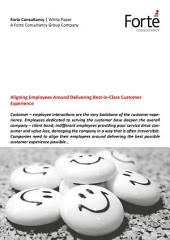 Aligning Employees Around Delivering Best-in-Class Customer Experience