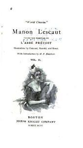 Manon Lescaut: Volume 2