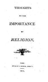 Thoughts on the importance of religion [by W. Allen].