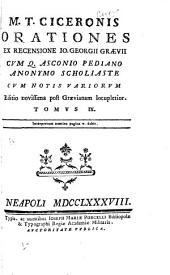 M. T. Ciceronis Opervm tomvs I[-XI, XIV-XVII, XXIII-XXIV] ...