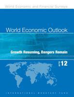 World Economic Outlook  April 2012 PDF