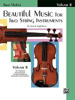 Beautiful Music for Two String Instruments  Book II PDF