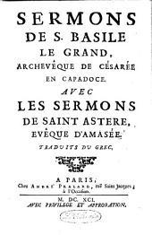 Sermons, avec les sermons de S. Astère