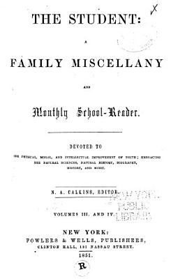 Student and Family Miscellany