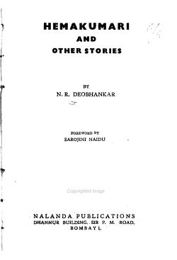 Hemakumari  and Other Stories PDF