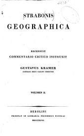 Strabonis Geographica: Volume 2