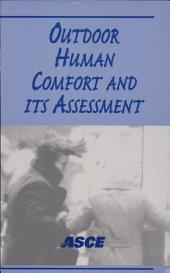 Outdoor Human Comfort and Its Assessment