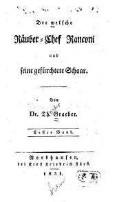 Der welsche Râuber-Chef Ranconi und seine gefürchtete Schaar: Band 2