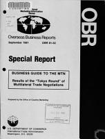 Business Guide to the MTN PDF