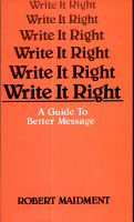 Write it Right PDF