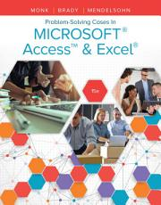 Problem Solving Cases In Microsoft Access   Excel PDF