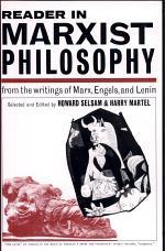 Reader in Marxist Philosophy