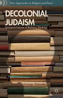 Decolonial Judaism PDF