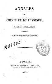 Annales de chimie et de physique: Volume53