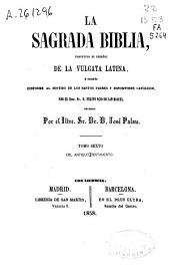 La Sagrada Biblia: Antiguo Testamento, Volumen 6