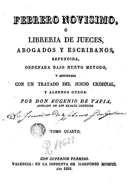Febrero Novisimo O Libreria De Jueces Abogados Y Escribanos 4
