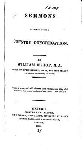 Sermons preached before a country congregation