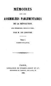 Bibliothèque des mémoires relatifs à l'histoire de France pendant le 18e siècle ...