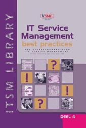 IT Service Management best practices: Deel 4