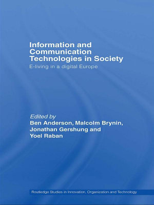 Information and Communications Technologies in Society PDF