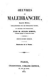 sér. Recherche de la vérité. 1853