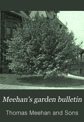 Meehan's Garden Bulletin: Volumes 2-5