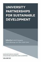 University Partnerships for Sustainable Development PDF