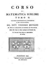 Corso di matematica sublime. ...