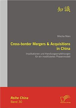 Cross border Mergers   Acquisitions in China PDF