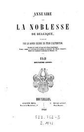 Annuaire De La Noblesse De Belgique: Volume2
