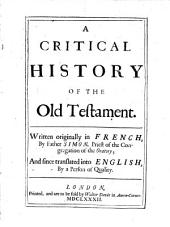 A Critical History of the Old Testament