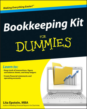 Bookkeeping Kit For Dummies PDF