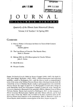 Journal of Illinois History PDF