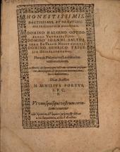 De philosophiae laudibus brevem orationem ... dicat, & offert M. Aemilius Portus