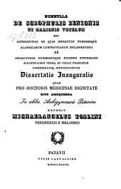 Nonulla de scrophulis benignis et malignis veterum