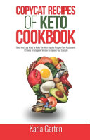Copycat Recipes Ok Keto Cookbook