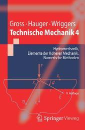 Technische Mechanik 4: Hydromechanik, Elemente der Höheren Mechanik, Numerische Methoden, Ausgabe 9