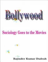 Bollywood  Sociology Goes to the Movies PDF