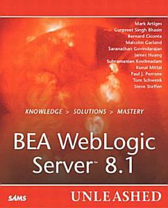 BEA WebLogic Server 8 1 Unleashed PDF