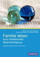 Familie leben trotz intellektueller Beeintr  chtigung PDF