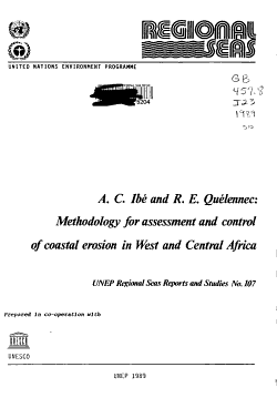 Methodology for Assessment and Control of Coastal Erosion in West and Central Africa PDF
