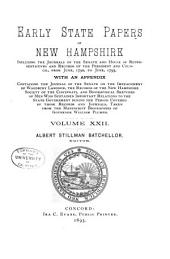 Provincial and State Papers: Volume 22