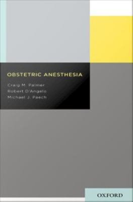 Obstetric Anesthesia PDF