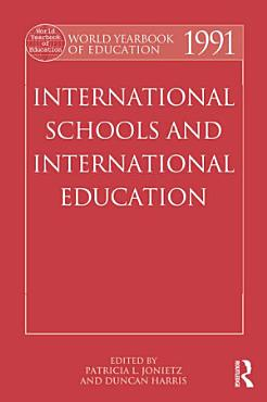 World Yearbook of Education 1991 PDF