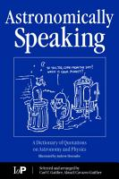 Astronomically Speaking PDF