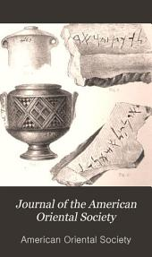 Journal of the American Oriental Society: Volume 10