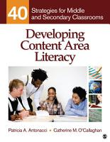 Developing Content Area Literacy PDF