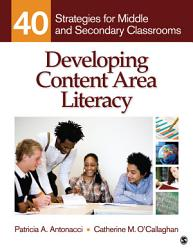 Developing Content Area Literacy Book PDF