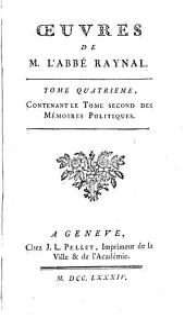 OEuvres de M. l'abbé Raynal