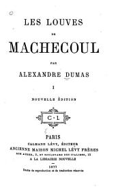 Les louves de Machecoul: Volume 1